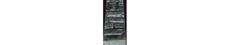 Stalpi gard beton turnat